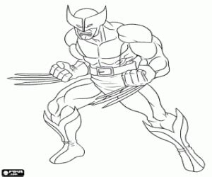 avengers wolverine coloring pages superheroes coloring pages printable games