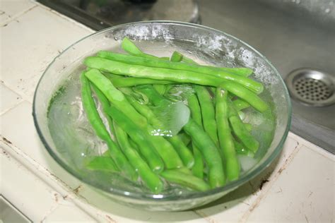 blanch green beans time white gold