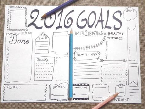 goal journal template 1000 ideas about goals template on goals