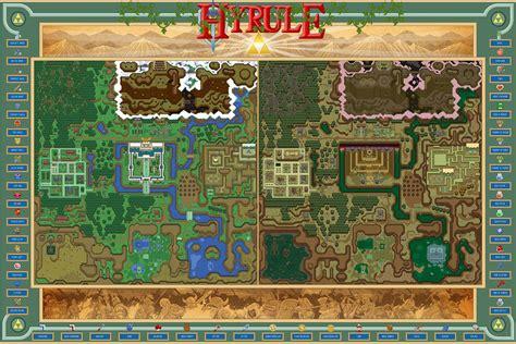 legend of zelda map key hyrule from the legend of zelda a link to the past