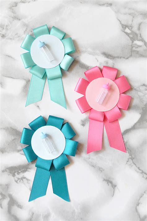 Baby Shower Pins Ideas by Diy Gender Reveal Baby Shower Pins Julep