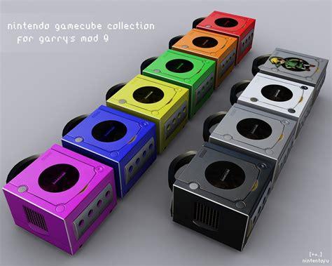 gamecube colors nintendo gamecube collection gmod props garry s mod 9