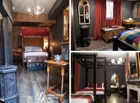 there s a harry potter themed hotel room in london and it live like a wizard in a harry potter themed hotel suite