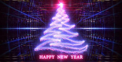 new year photo grid trees by kurbatov videohive