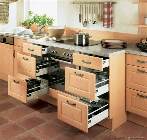 pictures of kitchens modern light wood kitchen cabinets kitchen 20