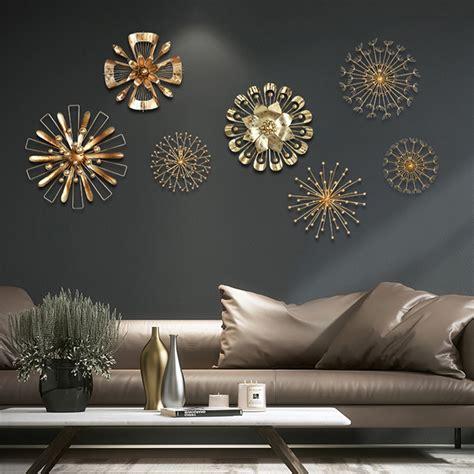 modern blossom abstract metal wall art home decor iron