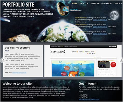 templates for placement website 45 best free web templates placement and learning