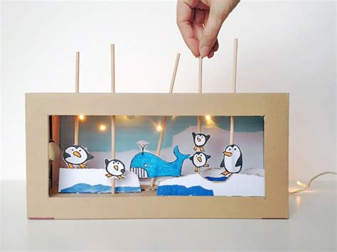 10 cool diy toy box projects kidsomania excellent diy shoebox theater kidsomania