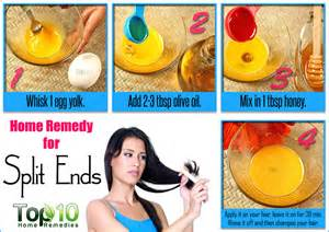 home remedies for split ends top 10 home remedies