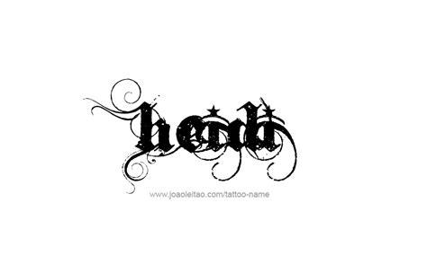 tattoo name heidi heidi name tattoo designs