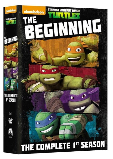 turtles all the way series 1 tmnt dvd news nickelodeon series set and on the way