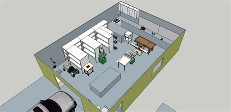 workshop shed layout workshop shed with workbench layout cool shed deisgn