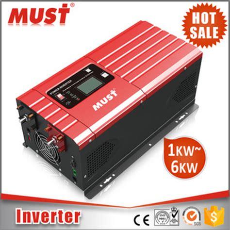 Inverter Must must customised any power 3000w power inverter dc 12v ac