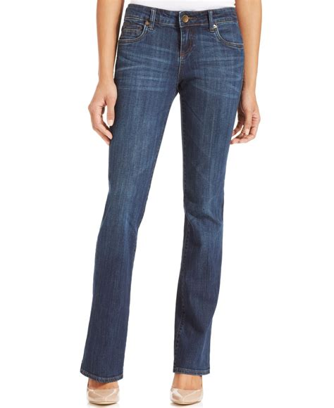 Kulot Jins kut from the kloth kut from kloth natalie bootcut in blue exceptional wash lyst