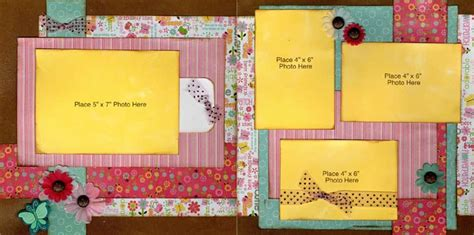 double layout scrapbook pages double page lucy scrapbook layout from imaginisce