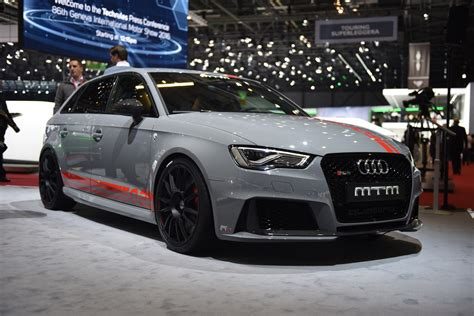 Audi Rs3 Mtm by Geneva 2016 Mtm Audi Rs3 R Gtspirit