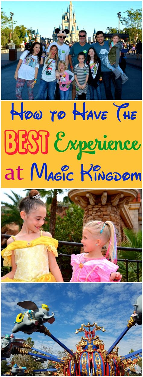 how to make the best at magic kingdom at walt disney world