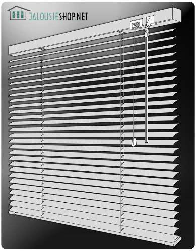 jalousie 70 cm breit alu jalousie in silber 70cm breit x 240cm lang aluminium