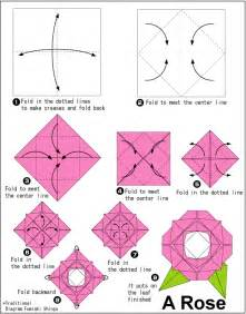 origami instructions major project design