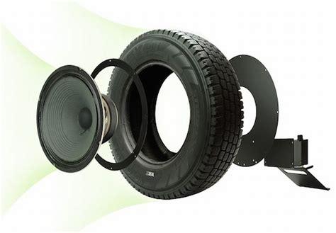 Speaker Subwoofer Bekas subwoofer ini dibuat dari ban mobil bekas okezone news
