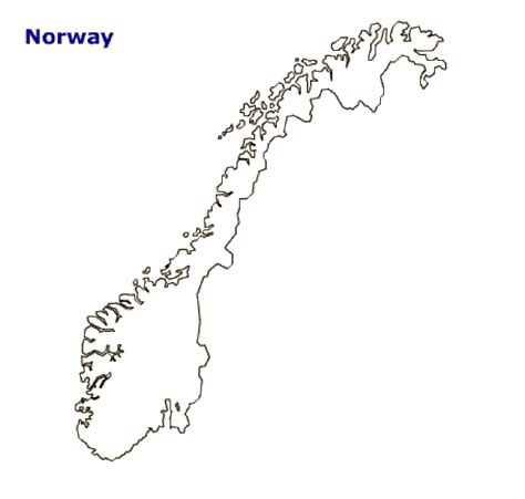 norway map coloring page map of norway terrain area and outline maps of norway