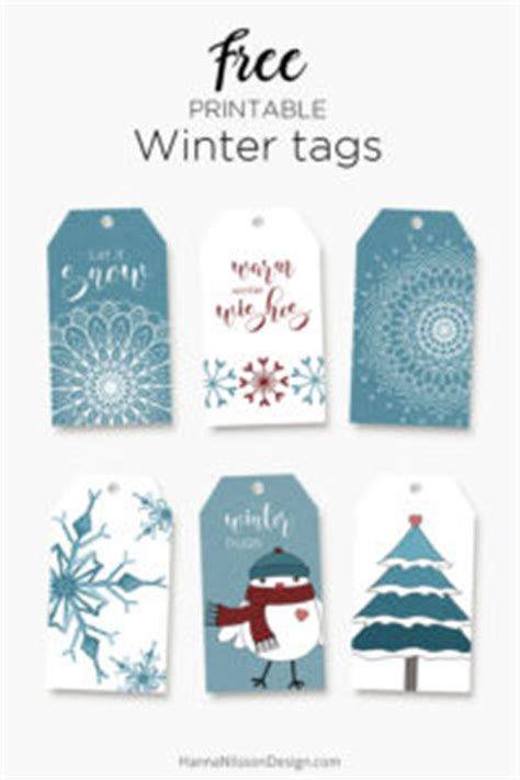 printable winter gift tags winter printables free tags cards boxes to print at