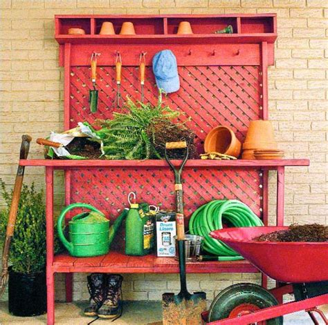 free potting bench plans 10 potting bench ideas with free building plans tuesday