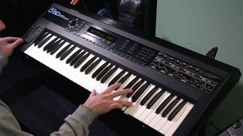 Keyboard Roland D50 roland d 50 revolutions ouverture