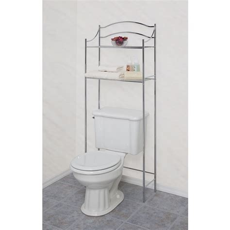 Kmart Bathroom Furniture Essential Home Chrome Tower 5 Shelf Home Furniture Bathroom Furniture Bathroom Cabinets