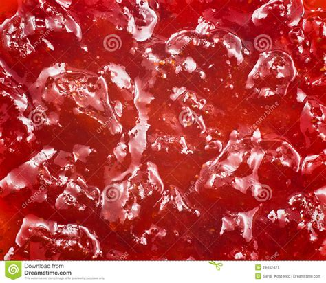 background jam red strawberry jam background royalty free stock