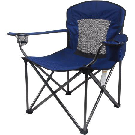 comfortable outdoor chair ozark trail xxl sized comfortable mesh outdoor chair
