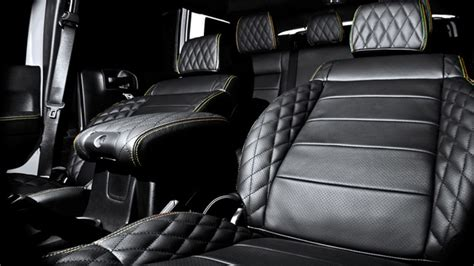 quilted leather seats jeep kahn jeep wrangler chelsea truck company cj300