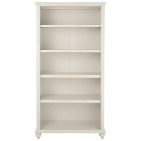 home decorators collection hamilton 5 shelf polar white