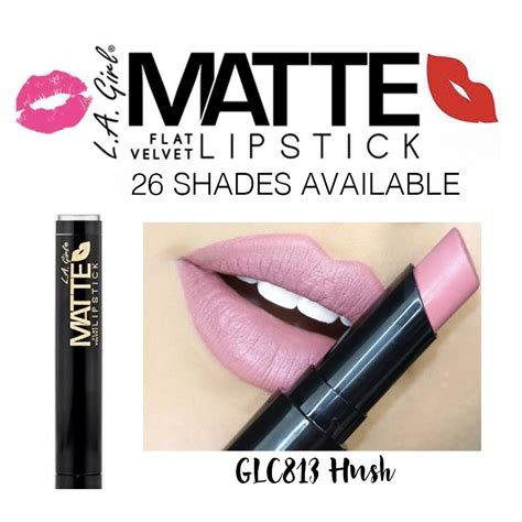 Jual Lipstick Serut Matte L A la l a matte flat velvet lipstick 26 shades new