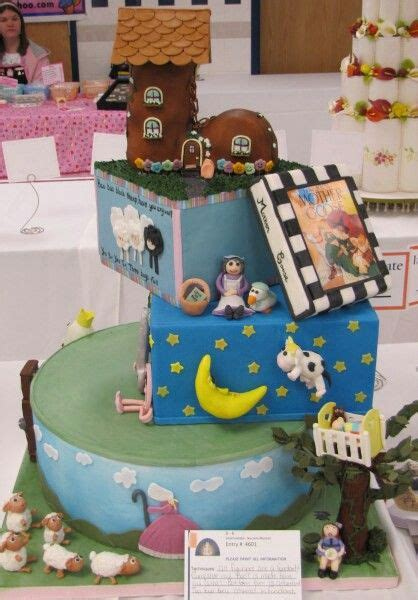 Nursery Rhyme Baby Shower Decorations Nursery Rhyme Themed Baby Shower Cake Baby Shower Theme Noah S Ark Themed