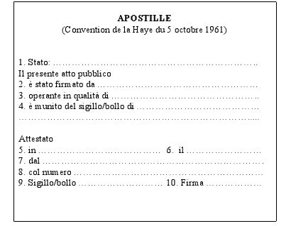 consolato italiano in colombia legalizzazione atti italiano rumeno moldavo apostille