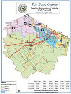 fort bend county map july hearings to discuss redistricting of fort bend
