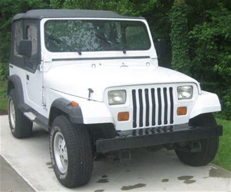 jeep wrangler 2 4l manual 1997 car for sale purchase used 1990 jeep wrangler s 2 4l tbi 4 cyl 140k 5 speed manual w ac in greensboro