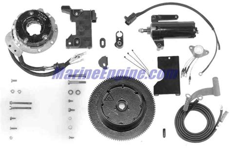 Johnson S Starter Kit electric start kit 9 9 15 hp 2 stroke electrical accessories for 2007 johnson evinrude outboards
