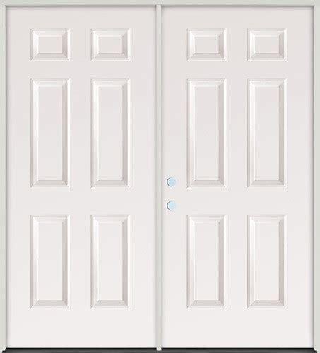 Cheap 6 Panel Interior Doors Cheap 6 0 Quot 6 Panel Steel Patio Prehung Door Unit