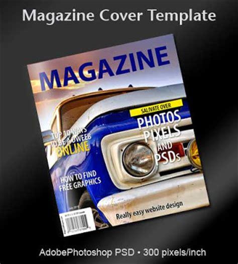 magazine cover template psd free magazine cover psd template printriver 169