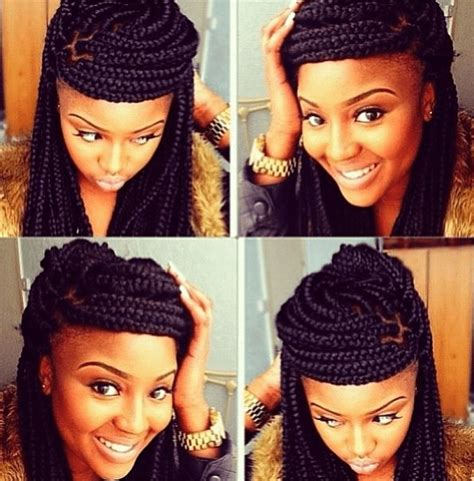 how to style my braided hair blocks poetic justice braids styles how to do styling pictures