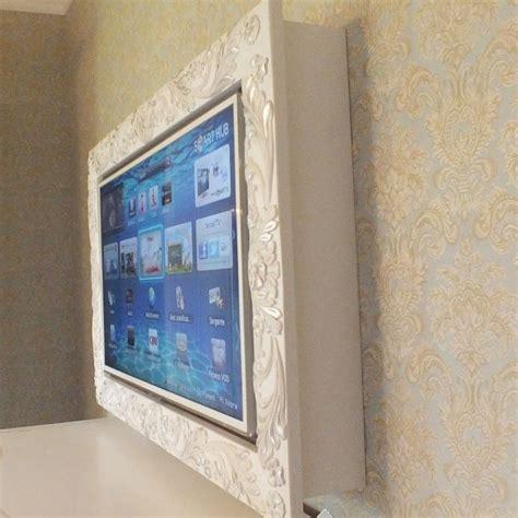 cornice tv specchiere cornice in legno mod flower vendita