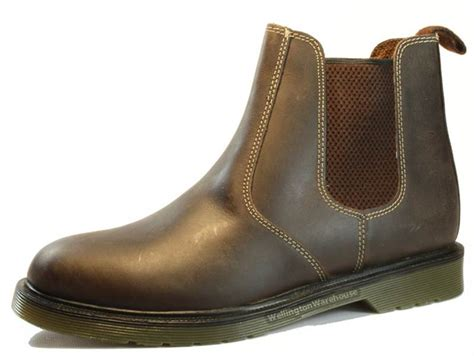 mens leather chelsea boots uk mens leather chelsea dealer boots uk sizes 6 12 ebay