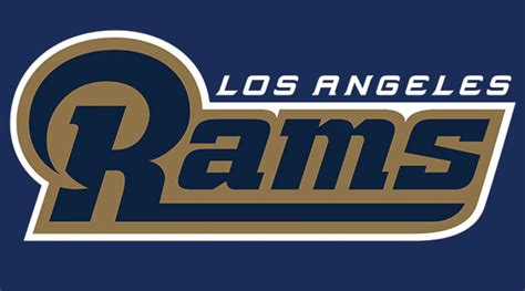 la rams colors los angeles rams new logo revealed si