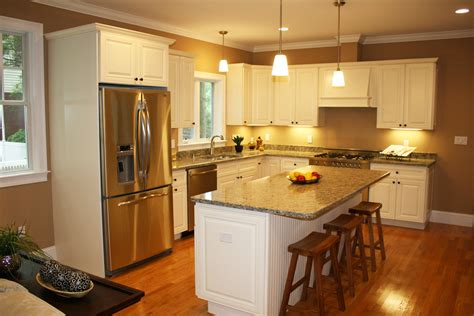 Painted Old Kitchen Cabinets by Painted White Oak Kitchen Cabinets Image Furniture Vista