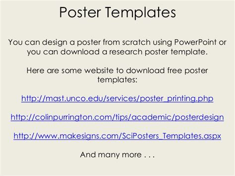 make a poster on powerpoint 3 poster size powerpoint