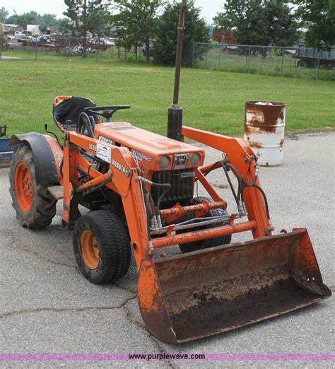 kubota b7100 kubota b7100 wst tractor item f8606 sold june 26