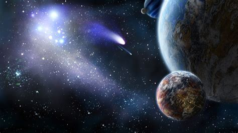 imagenes 4k de la tierra espacio cometa planeta tierra luna naturaleza universo