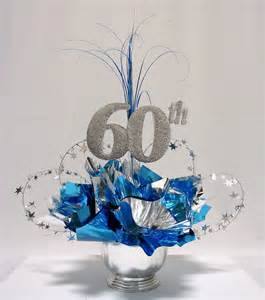 centerpieces for birthday 60th milestone centerpiece